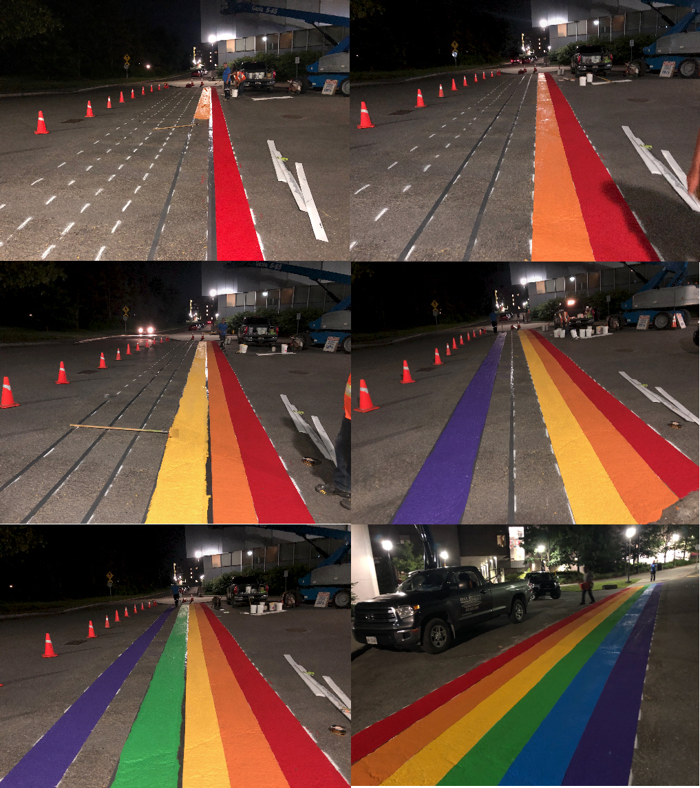 PRIDE CROSSWALK PROCESS